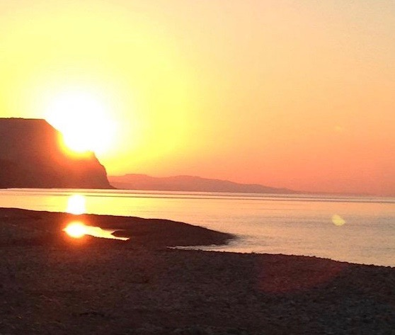 Sunrise Charmouth